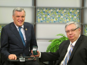 Don and Lt. Gov. David C. Onley